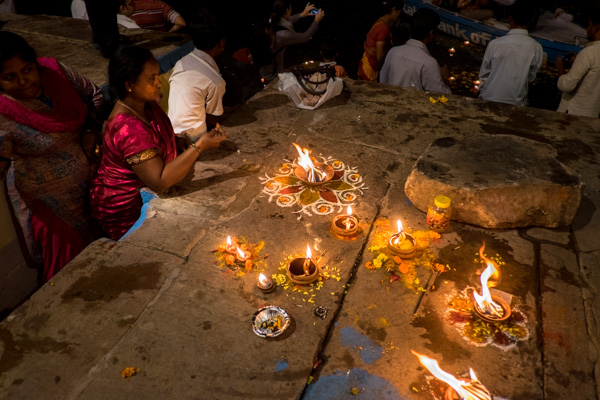 Candles at the Ganges
