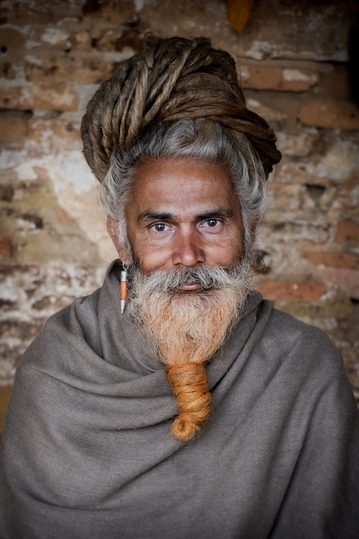 Holy man in India