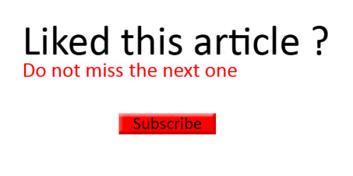 Subscribe Button Blog
