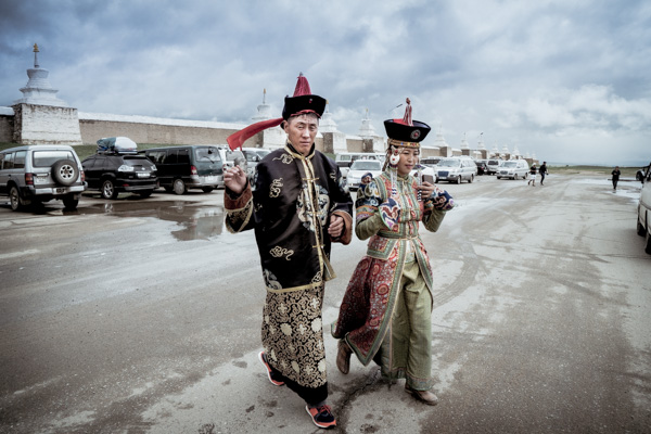 Mongolian Tourists