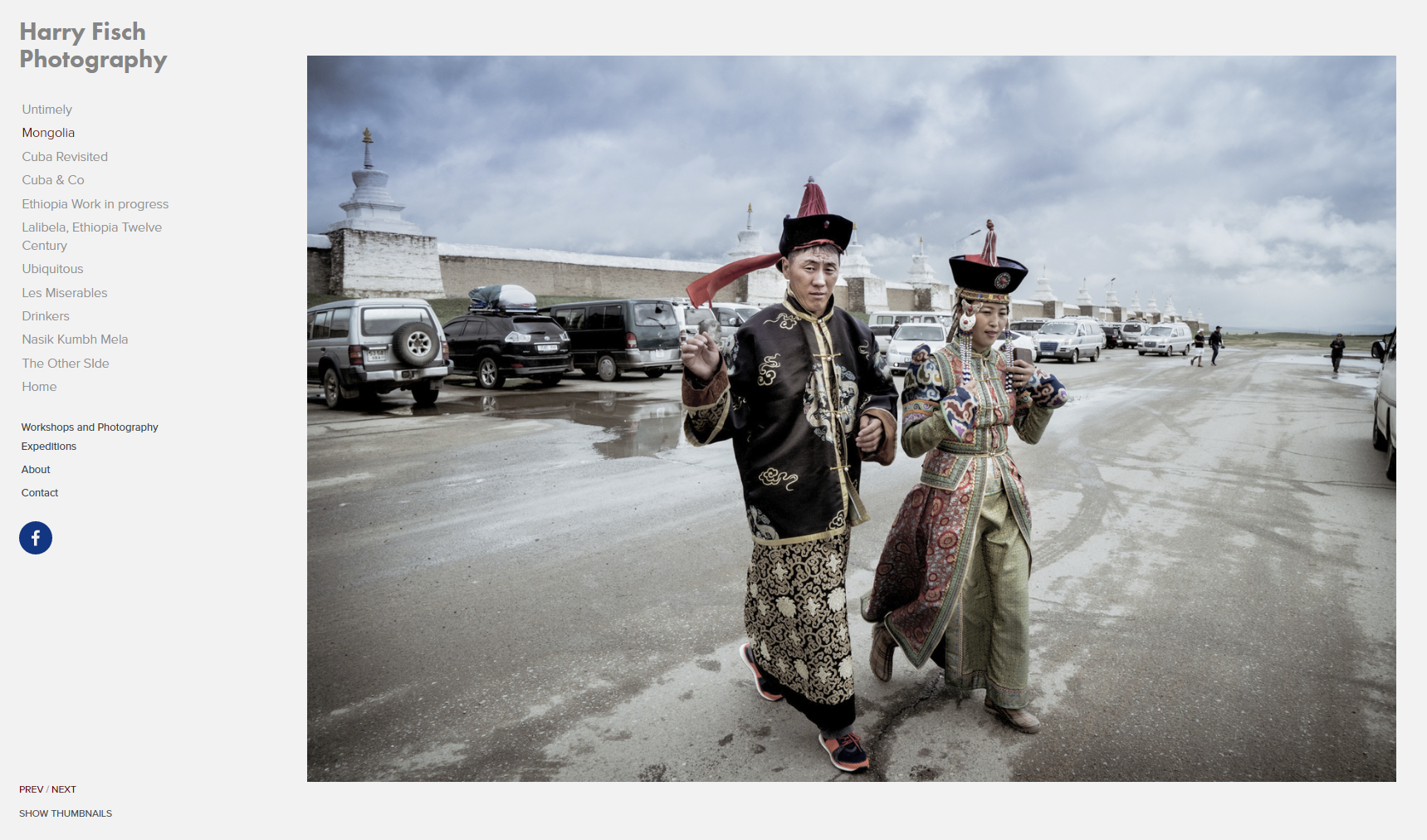 Mongolian Couple.