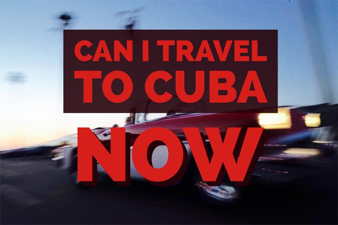 travel now to cuba