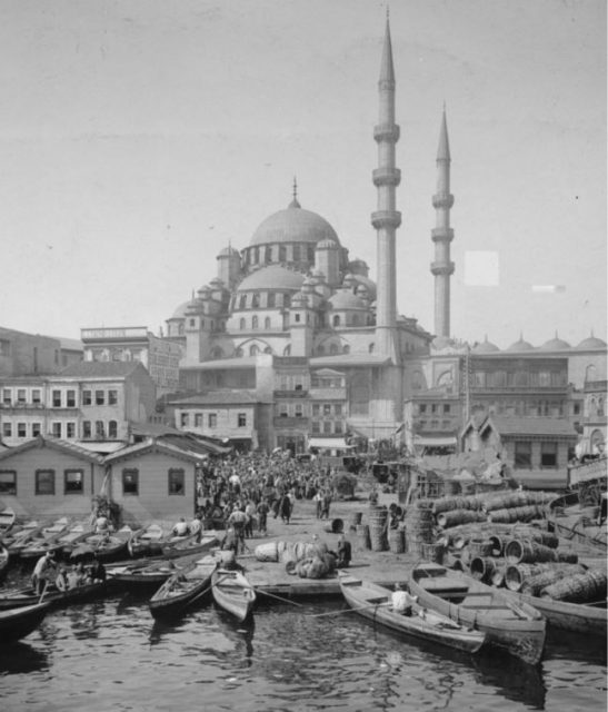 An old image of Istanbul on a Photo Tour in Turkey