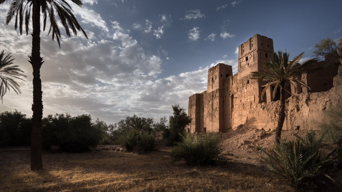 Old castle Moroccan